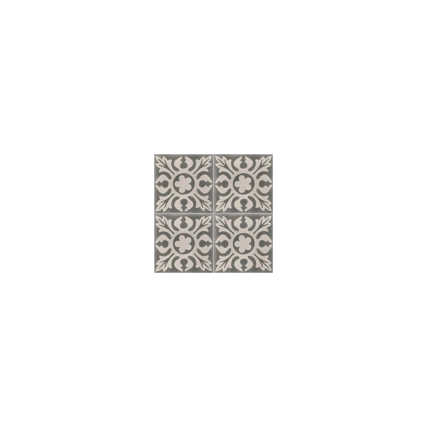carreau de ciment color motif gris clair et gris fonc cof 12 casalux home design. Black Bedroom Furniture Sets. Home Design Ideas