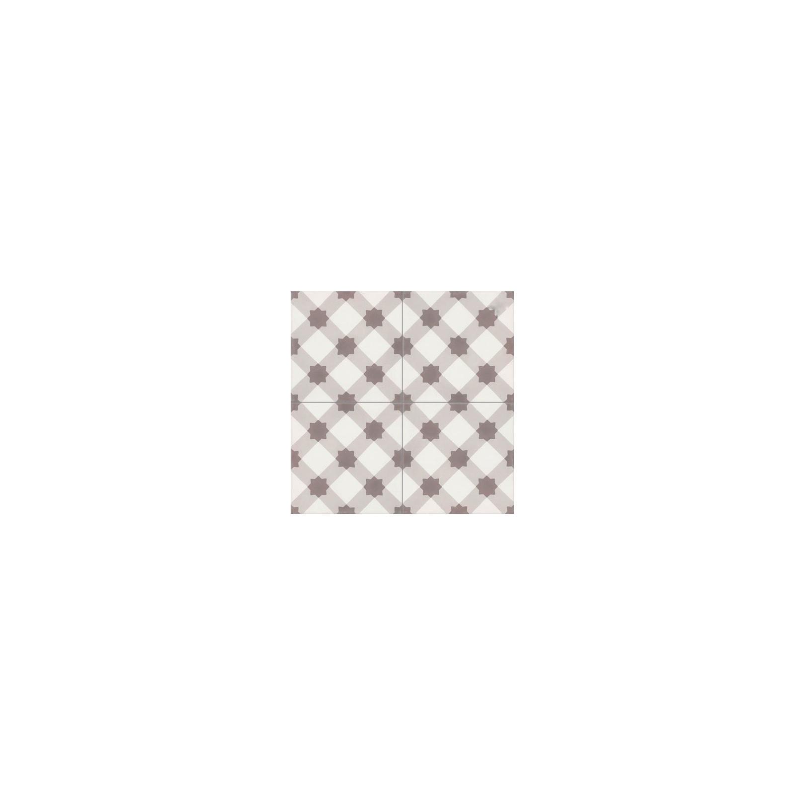 carreau de ciment color motif beige marron et blanc ourse casalux home design. Black Bedroom Furniture Sets. Home Design Ideas