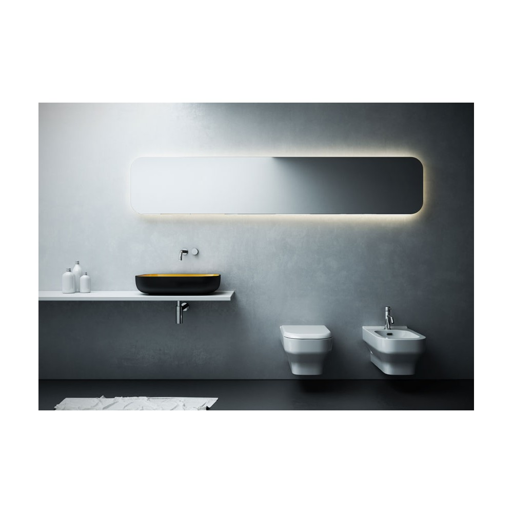 lavabo vasque poser metamorfosi rettangolare met42600 6 couleurs rectangle 60x42xh14cm. Black Bedroom Furniture Sets. Home Design Ideas