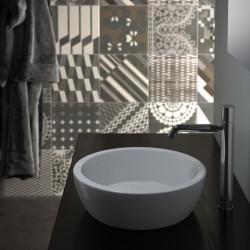 Lavabo, vasque Bacinello Tondo (2 couleurs) bol à poser diam41xh13cm