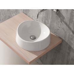 Lavabo, vasque Bacinello Onda (2 couleurs) rond à poser diam.40xh12cm