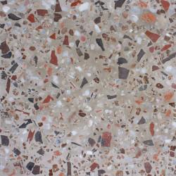 Carreau Terrazzo uni beige Tsari Terracotta, 30x30cm