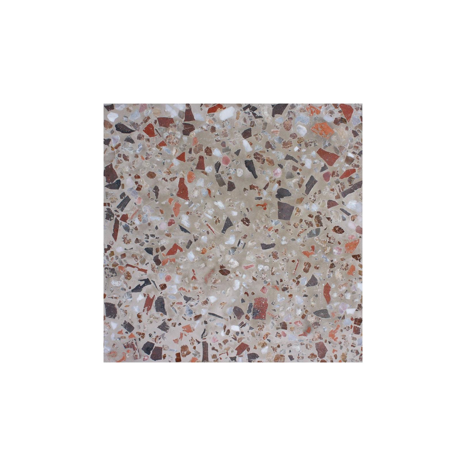 Carreau terrazzo uni beige tsari terracotta 30x30cm for Carrelage terrazzo