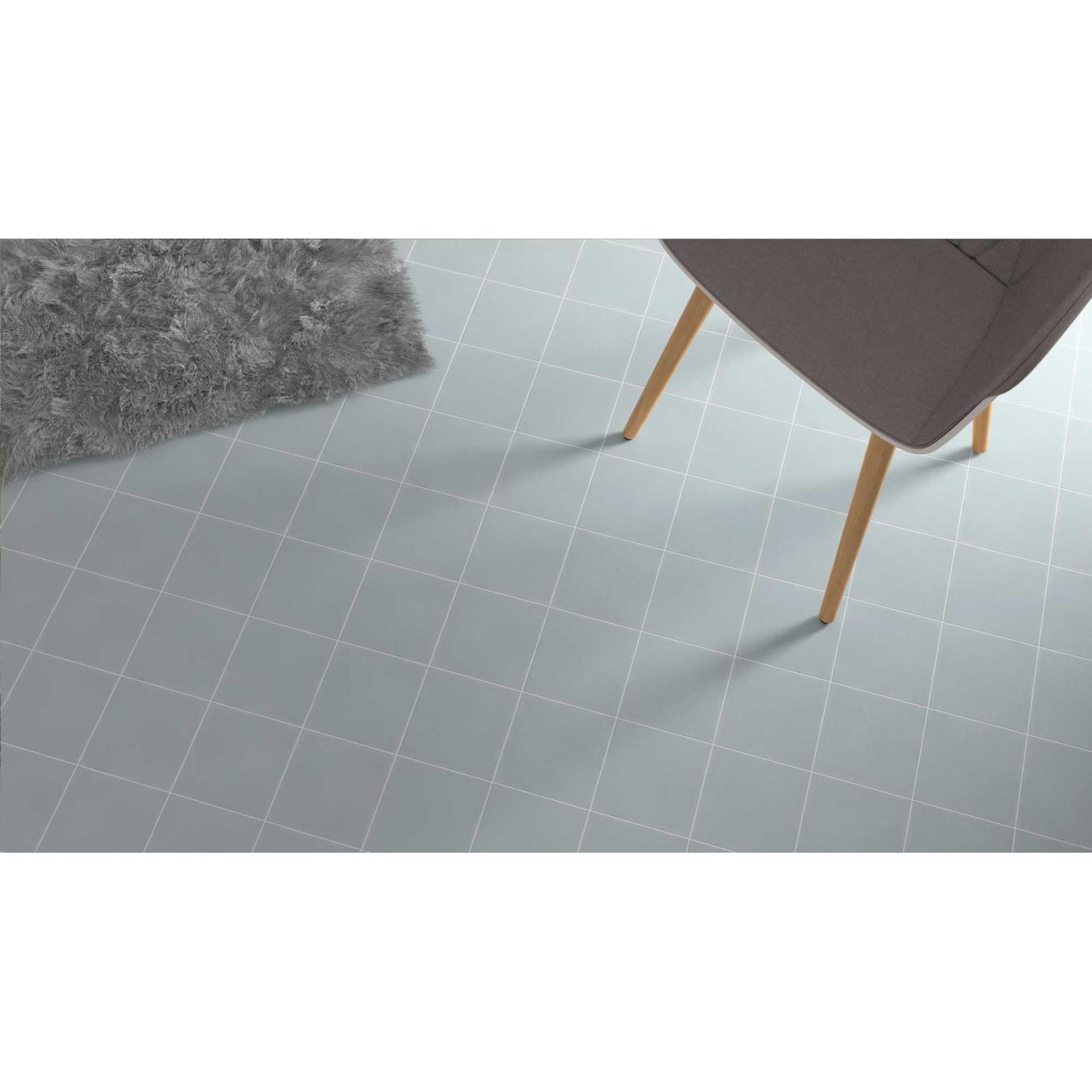 Carrelage grès cérame effet carreau ciment Cement Uni (5 couleurs), 18,5x18,5cm
