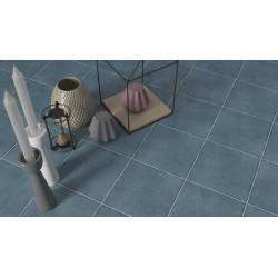Carrelage grès cérame effet carreau ciment Boreal uni (4 couleurs), 18,5x18,5cm