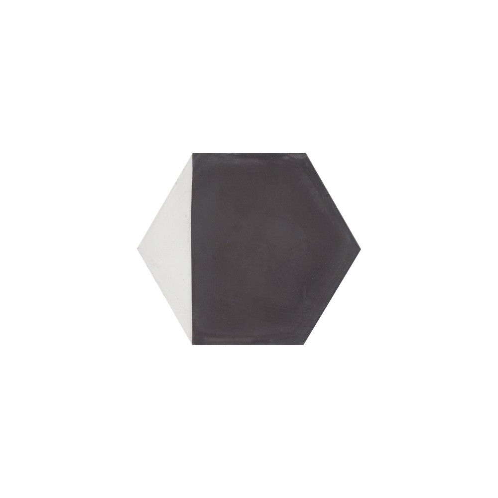 carreau de ciment color hexagone motif angle noir et blanc clovis casalux home design. Black Bedroom Furniture Sets. Home Design Ideas