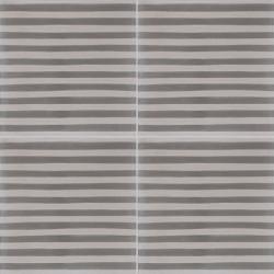 4 Carreaux de ciment coloré gris clair et gris foncé COF 19