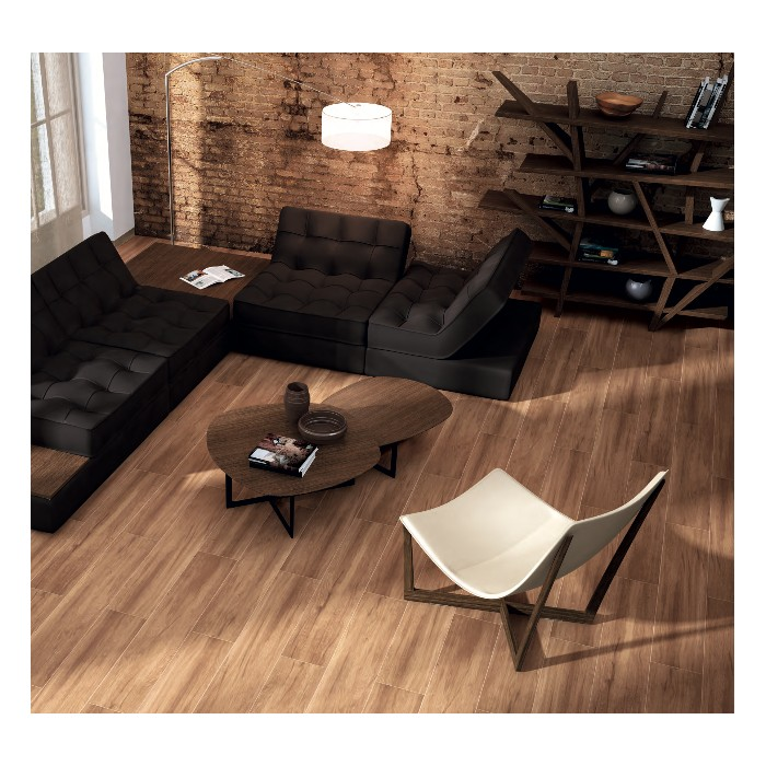 carrelage gr s c rame effet parquet casterly caoba marron. Black Bedroom Furniture Sets. Home Design Ideas