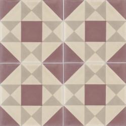 4 Carreaux de ciment coloré GRENELLE 35.36.37