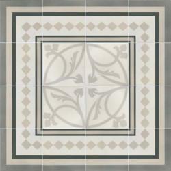 Carrelage grès cérame effet carreau ciment Caprice Liberty (2 couleurs)