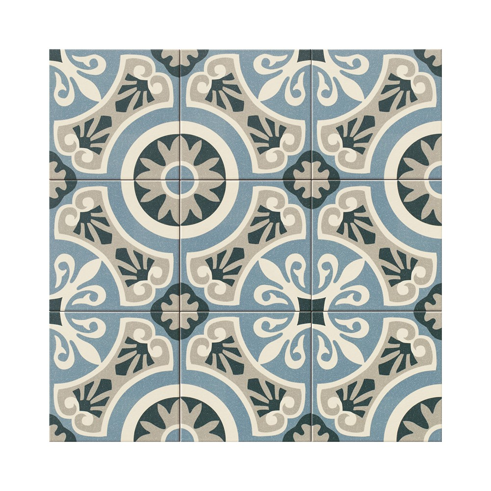 carreau ciment bleu simple tapis vinyle carreaux de ciment lon bleu ocan with carreau ciment. Black Bedroom Furniture Sets. Home Design Ideas