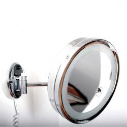 Miroir 6509020 avec lumière led, 2 bras extensibles