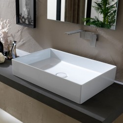 Lavabo, vasque Hide 60x37cm (11 couleurs) rectangle