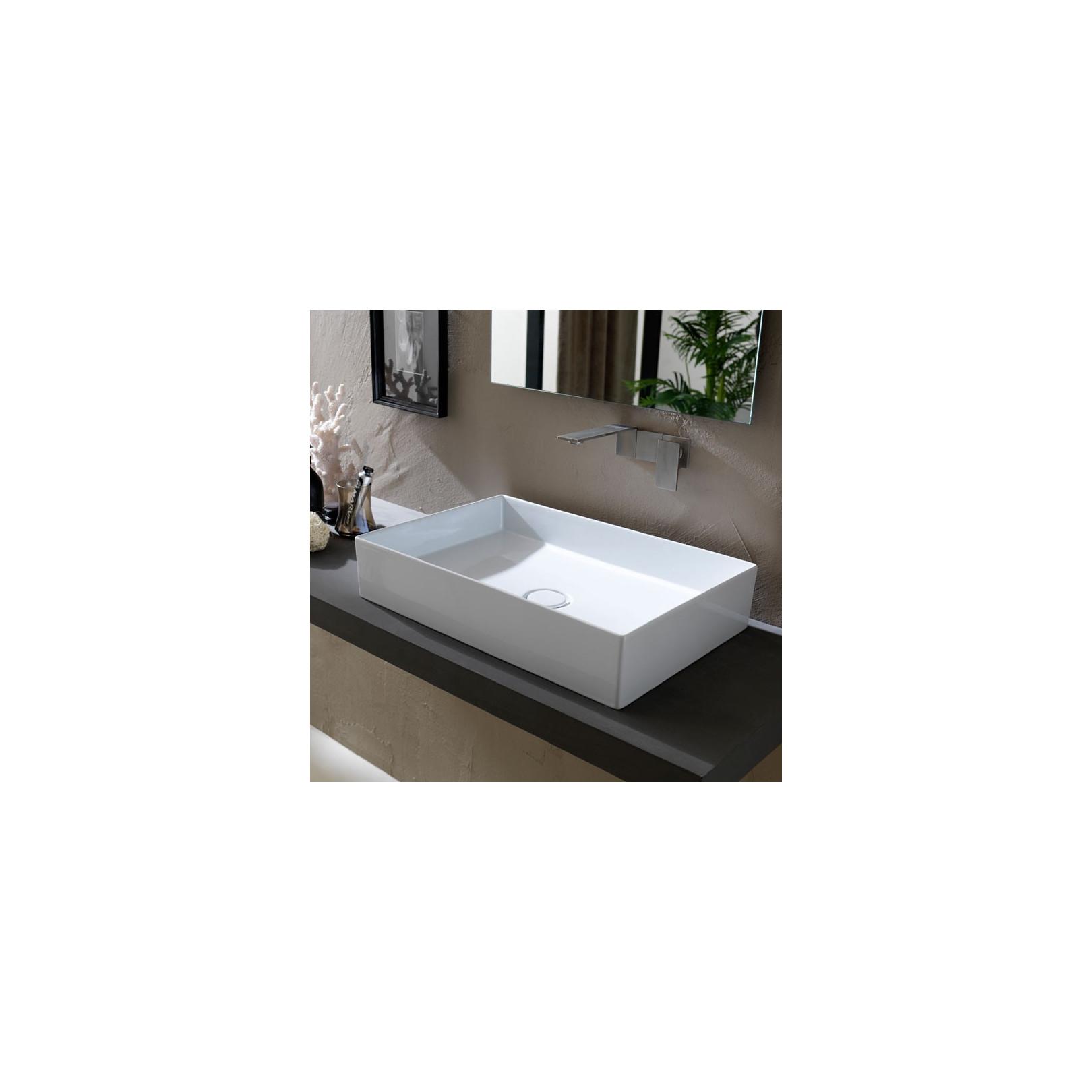 Lavabo, vasque Hide 60x37cm (11 couleurs) rectangle