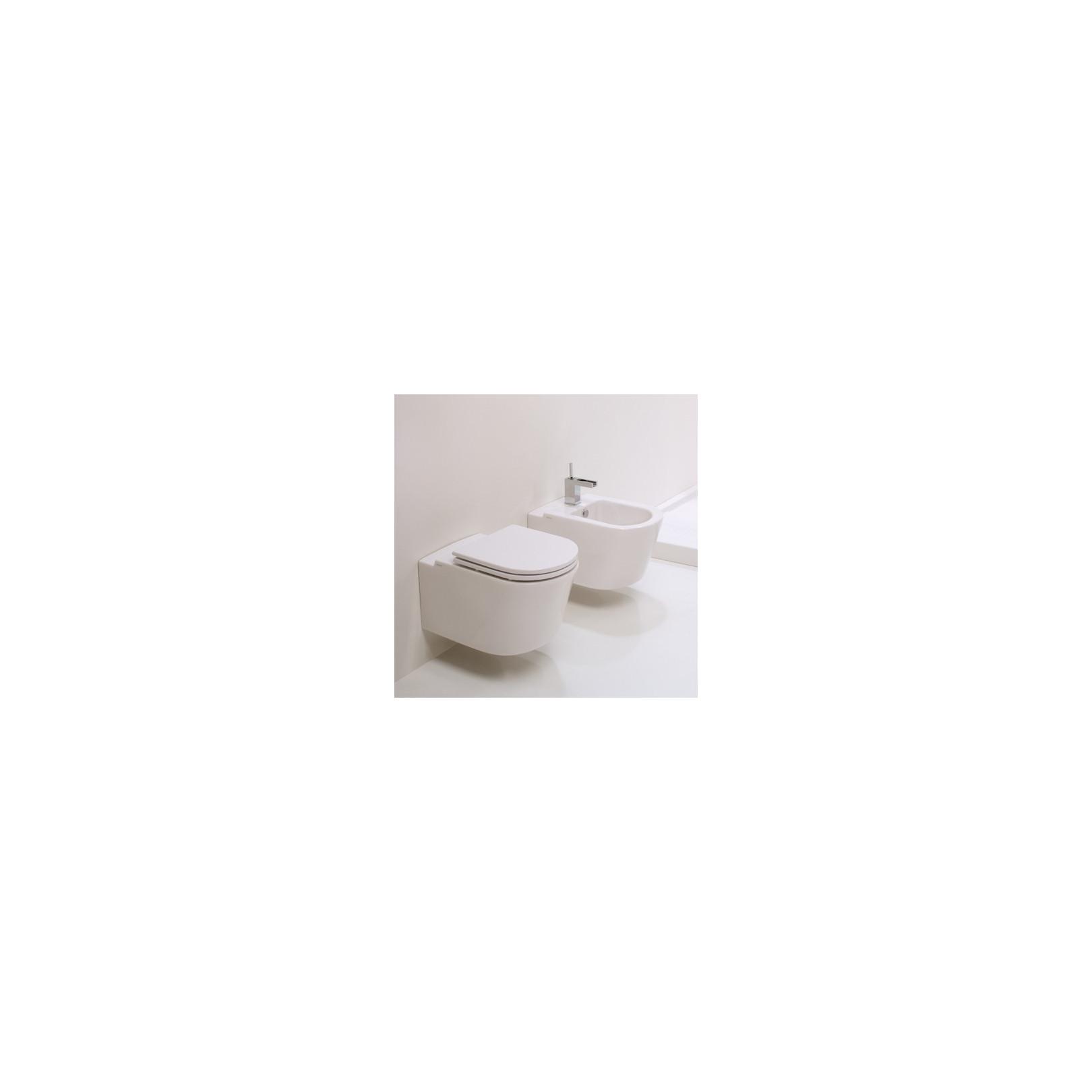 WC suspendu Race 55cmx36cm avec abattant, RAWCSO