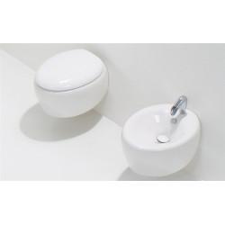 WC suspendu Touch 55cmx38,5cm avec abattant, TOWCSO+TOCOPRTIouTOCOPRTICR