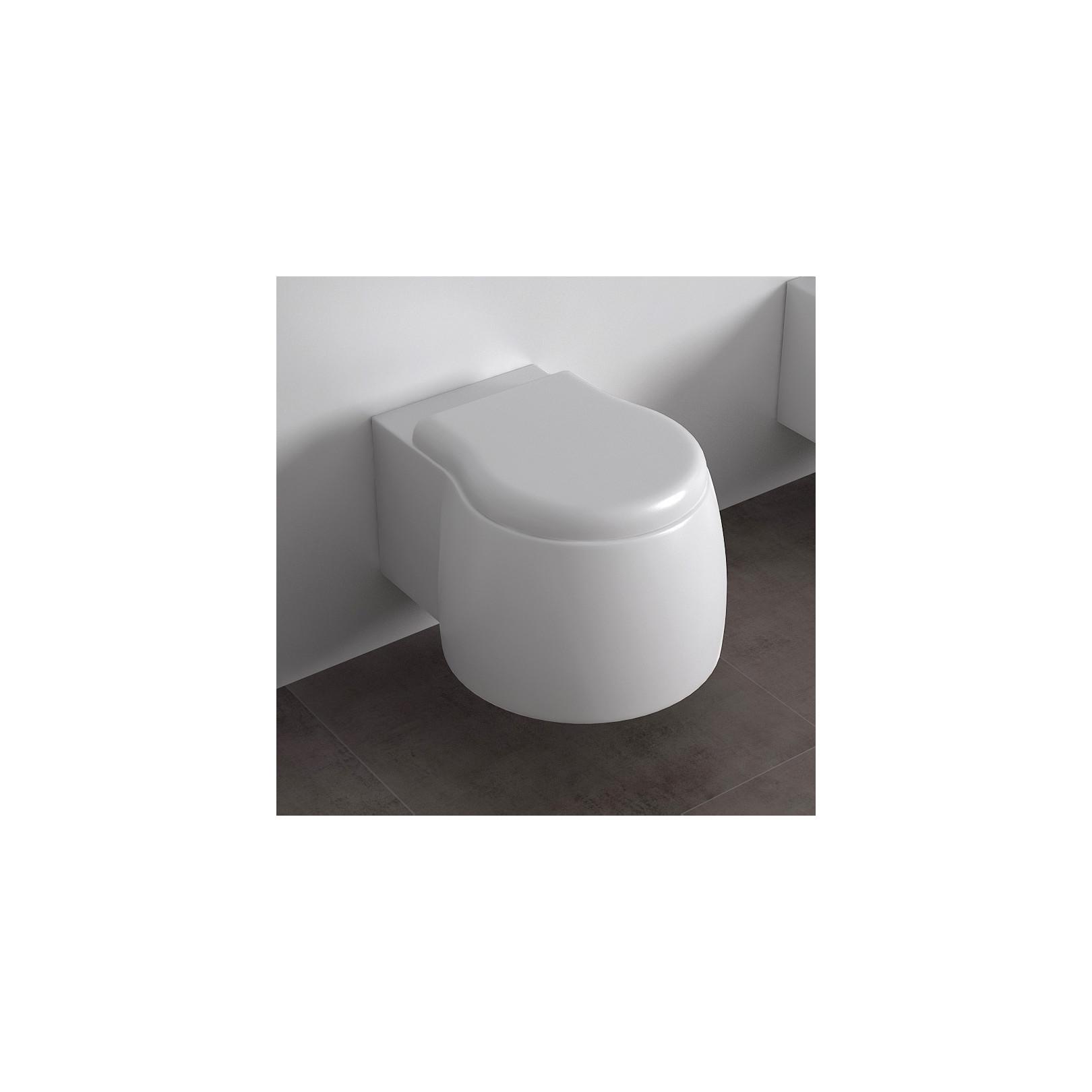 WC suspendu Dunia 42,5x54cm avec abattant, DUWCSO+DUCOPRTIouDUCOPRTICR