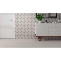 Carrelage grès cérame effet carreau ciment Drops BIt Decor (3 couleurs), 18,5x18,5cm