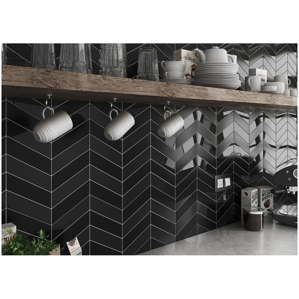 carrelage mural fa ence scale chevron wall 8 couleurs chevron 18 6x5 2cm casalux home design. Black Bedroom Furniture Sets. Home Design Ideas