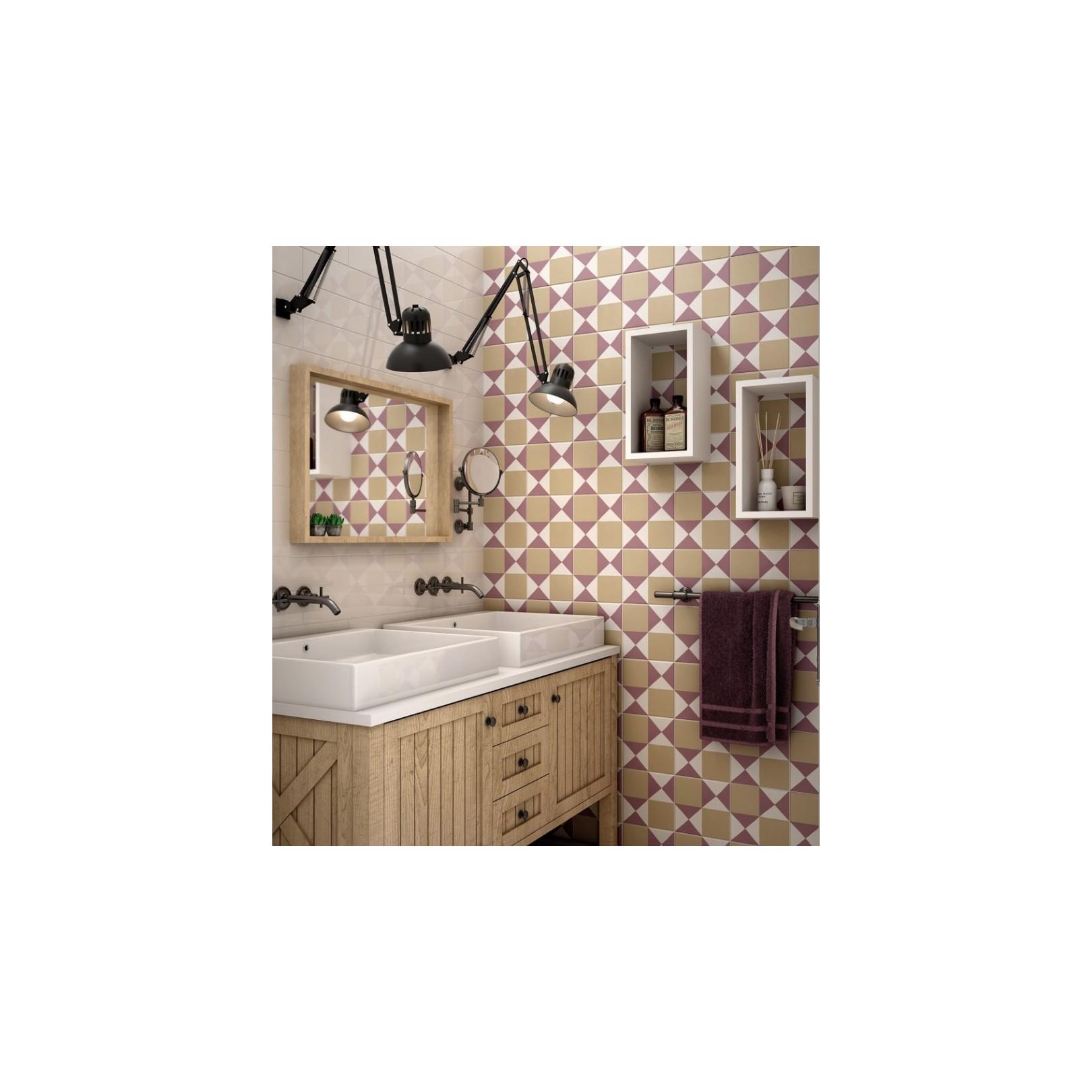 carrelage gr s c rame effet carreau ciment caprice deco colours chess casalux home design. Black Bedroom Furniture Sets. Home Design Ideas