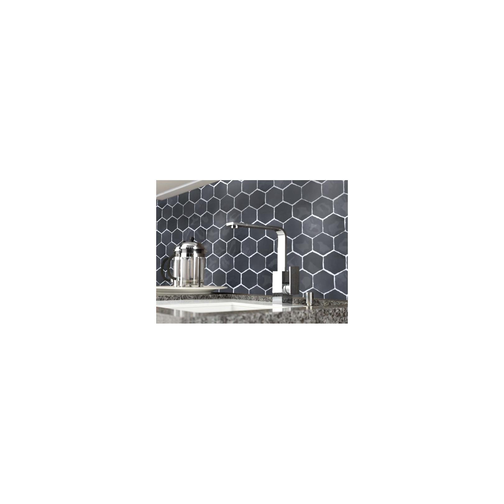 Carrelage mural terre cuite émaillée Hexagone 10x10cm (18 couleurs)