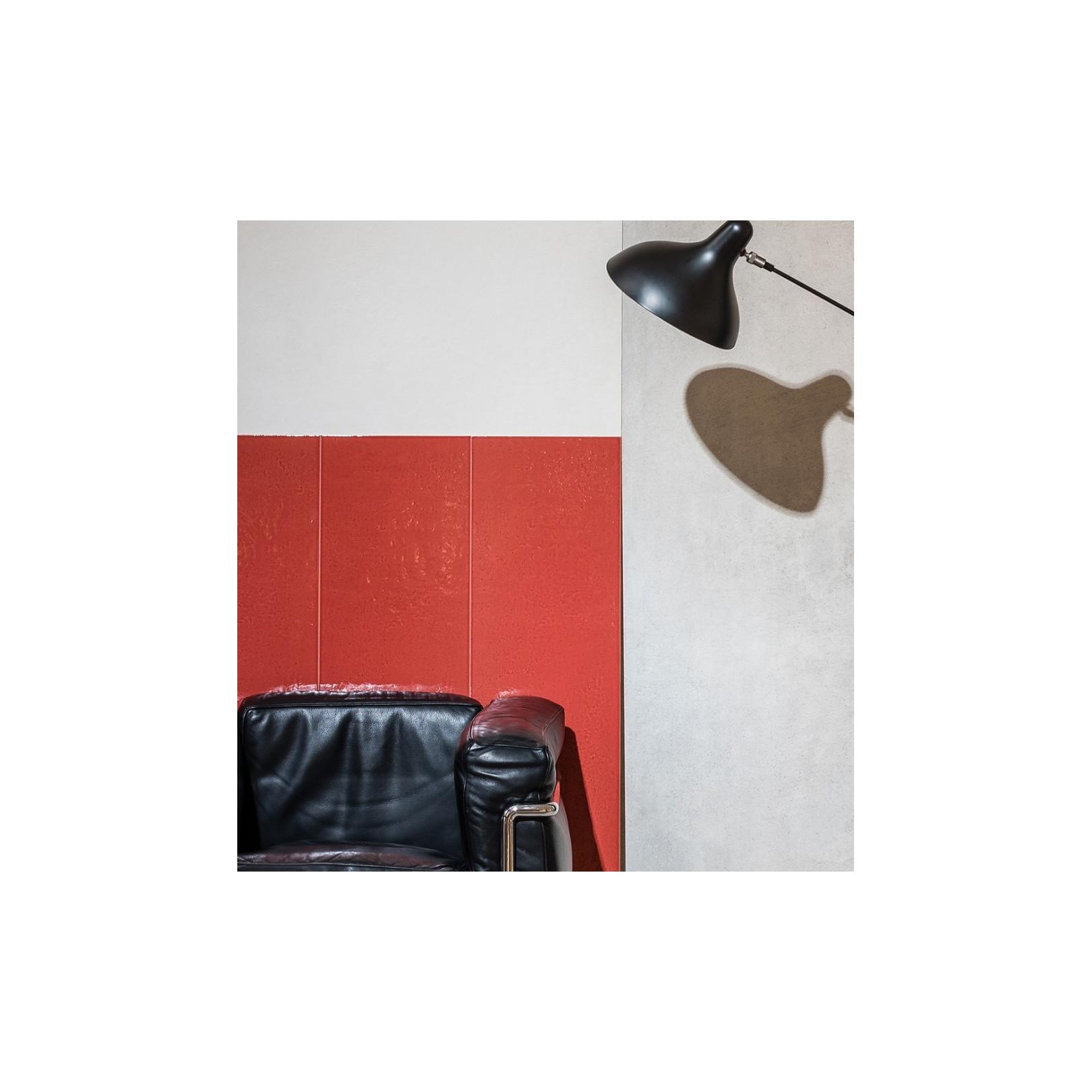 Carrelage mural faience Le Corbusier LCS1 uni brillant 120x30cm (12 couleurs)