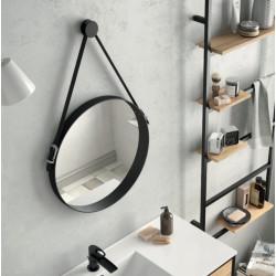 Miroir Vinci Barbier circulaire avec sangle