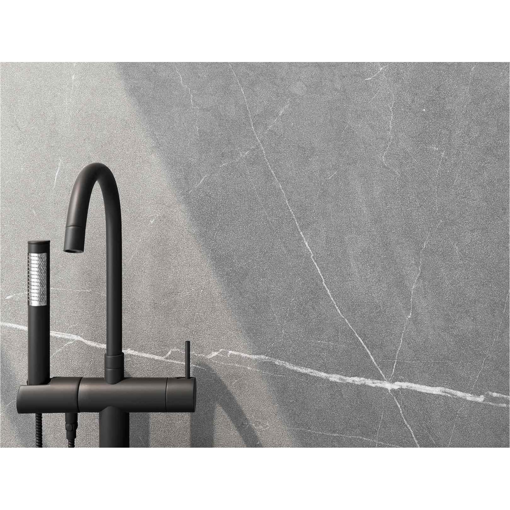 Carrelage grès cérame effet marbre pierre martelée Allure (4 couleurs, 11 formats)