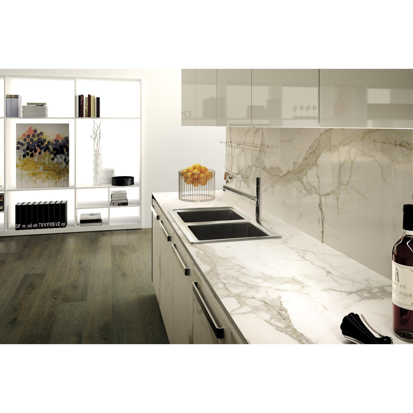 carrelage gr s c rame effet marbre mf calacatta rectifi. Black Bedroom Furniture Sets. Home Design Ideas