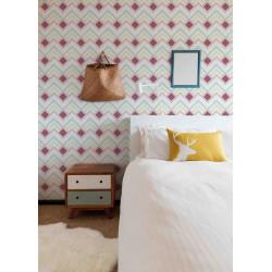 Mosaïque 2,5x2,5cm motif géométrique Coachella (4 couleurs)