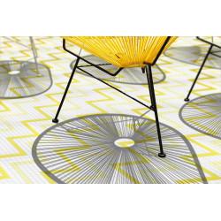 Mosaïque 2,5x2,5cm motif géométrique Palm Springs Hemet (2 couleurs)