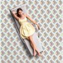 Mosaïque 2,5x2,5cm motif géométrique Palm Springs Indio (2 couleurs)