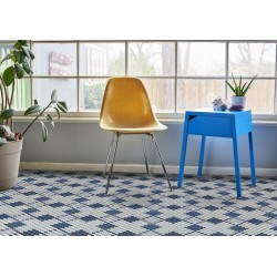 Mosaïque 2,5x2,5cm motif géométrique Palm Springs Biskra (2 couleurs)
