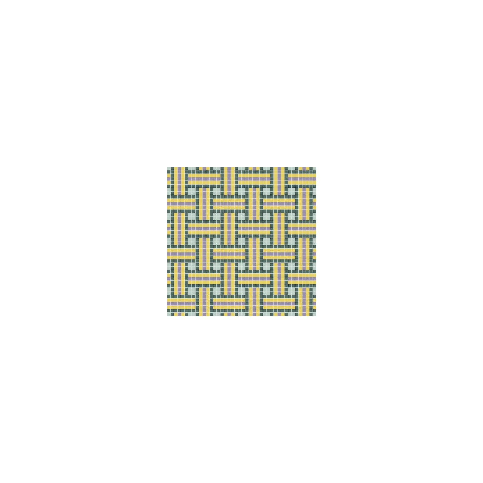 Mosaïque 2,5x2,5cm motif géométrique Palm Springs Sycamore (2 couleurs)