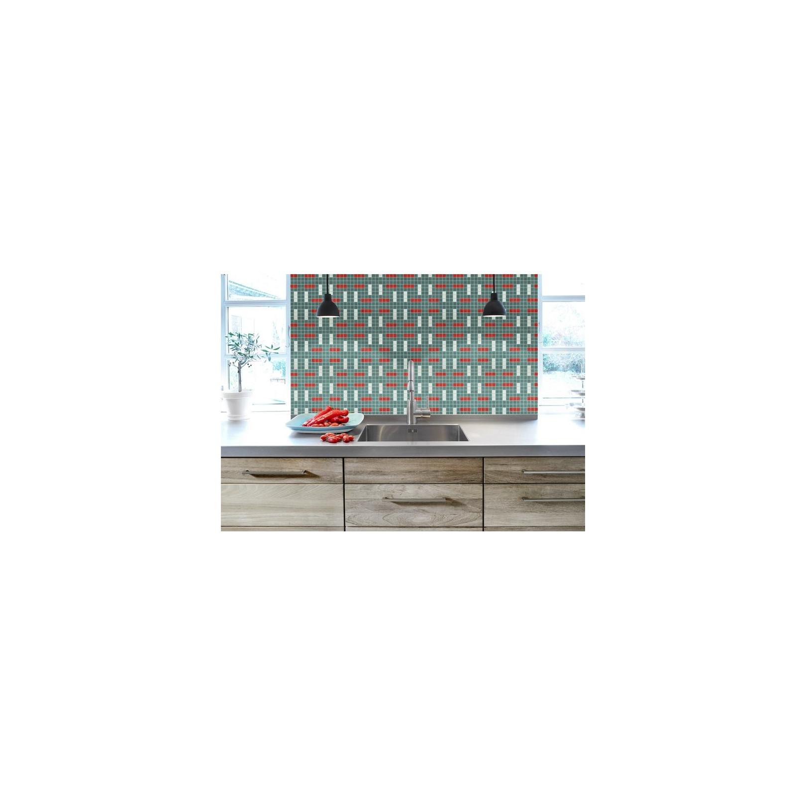 Mosaïque 2,5x2,5cm motif géométrique Palm Springs Anza