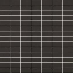Mosaïque Doppel rectangle 4.6x2.3cm noir 574 sur trame nylon 33,2x33,2cm
