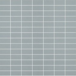 Mosaïque Doppel rectangle 4.6x2.3cm bleu ciel 569 sur trame nylon 33,2x33,2cm