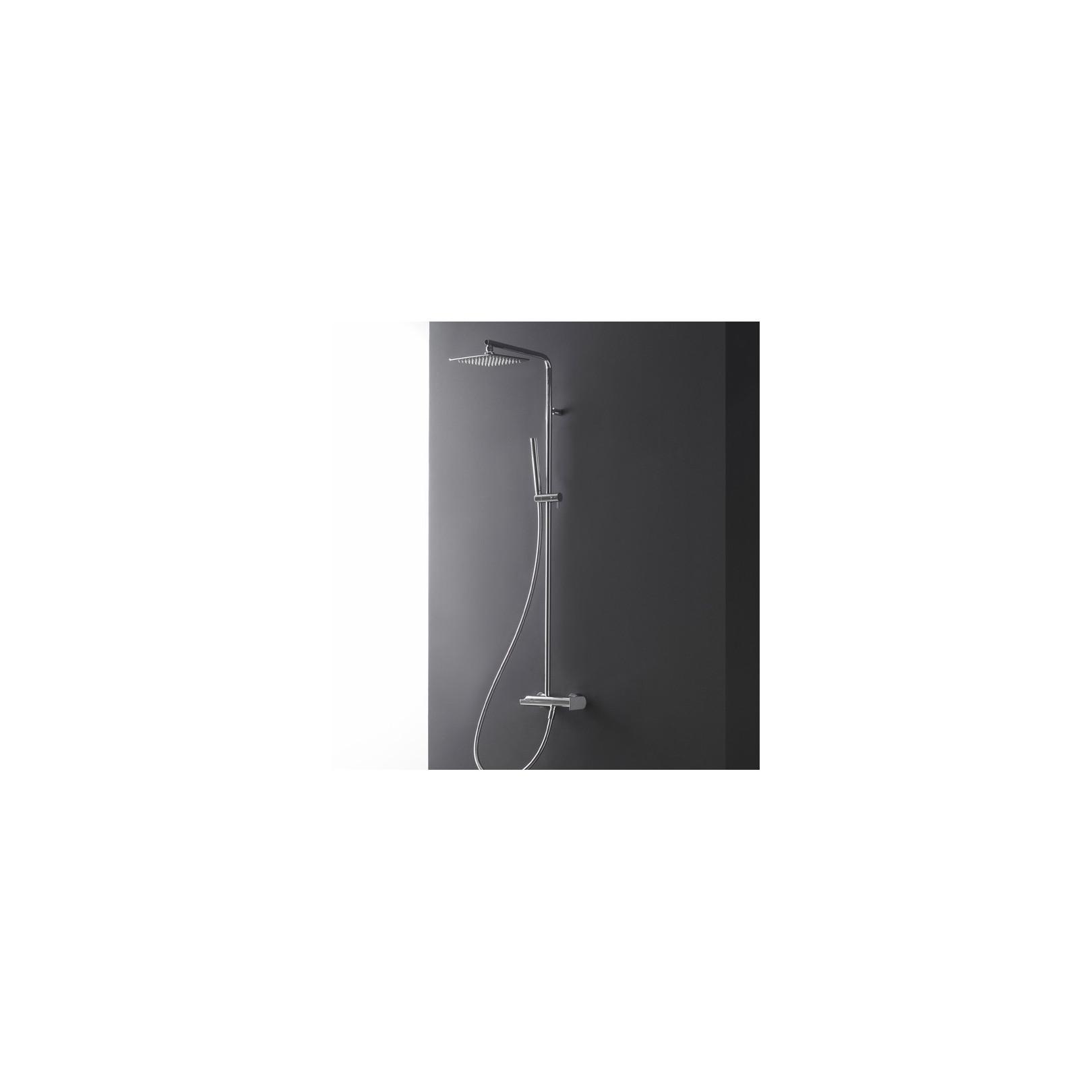 Colonne de douche externe Ran 2260 (mitigeur, inverseur, tête de douche 25x25cm et douchette)