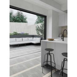 Carrelage grès cérame Love Affairs Petra Strip 50x10cm effet marbre