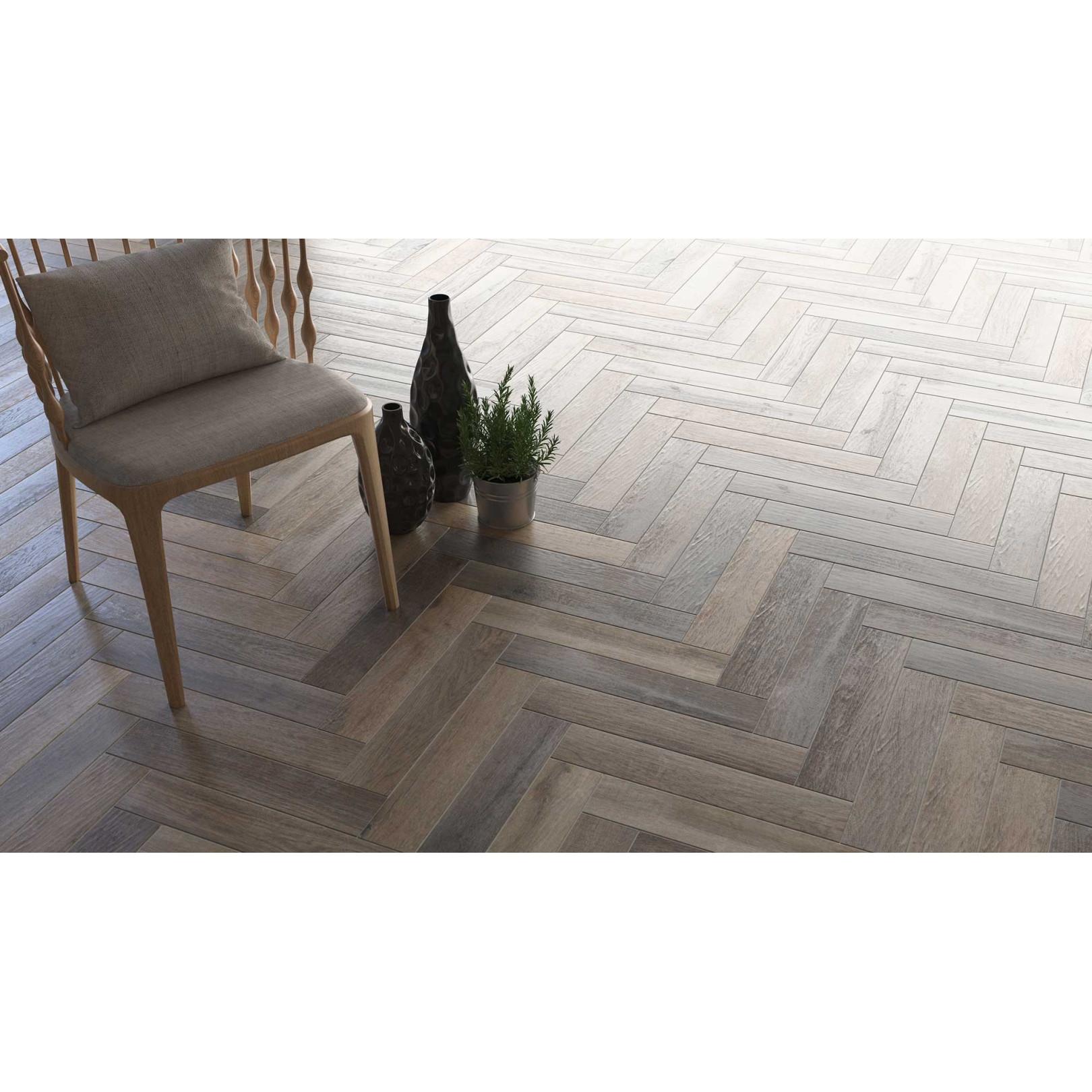 Carrelage grès cérame Love Affairs Timber Strip 50x10cm effet bois