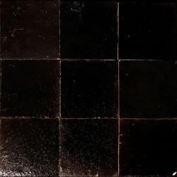 Carrelage mural Zellige manuelle noir 5