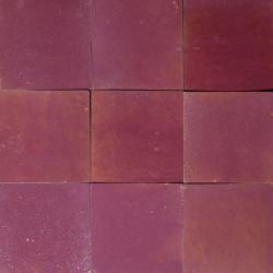 Carrelage mural Zellige manuelle Violet 18