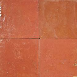 Carrelage mural Zellige manuelle Vieux rose 16