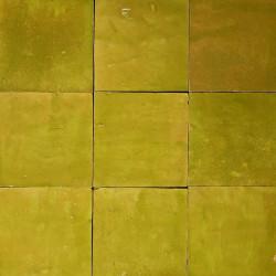 Carrelage mural Zellige manuelle Vert tendre 22