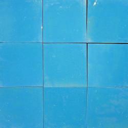 Carrelage mural Zellige manuelle Bleu turquoise 8