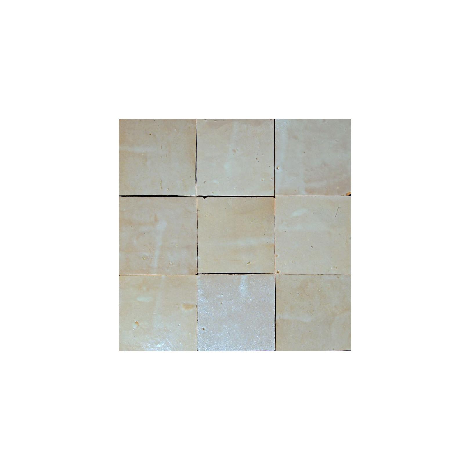 Carrelage mural Zellige manuelle Blanc Fes 2