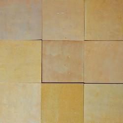 Carrelage mural Zellige manuelle Gris beige 26