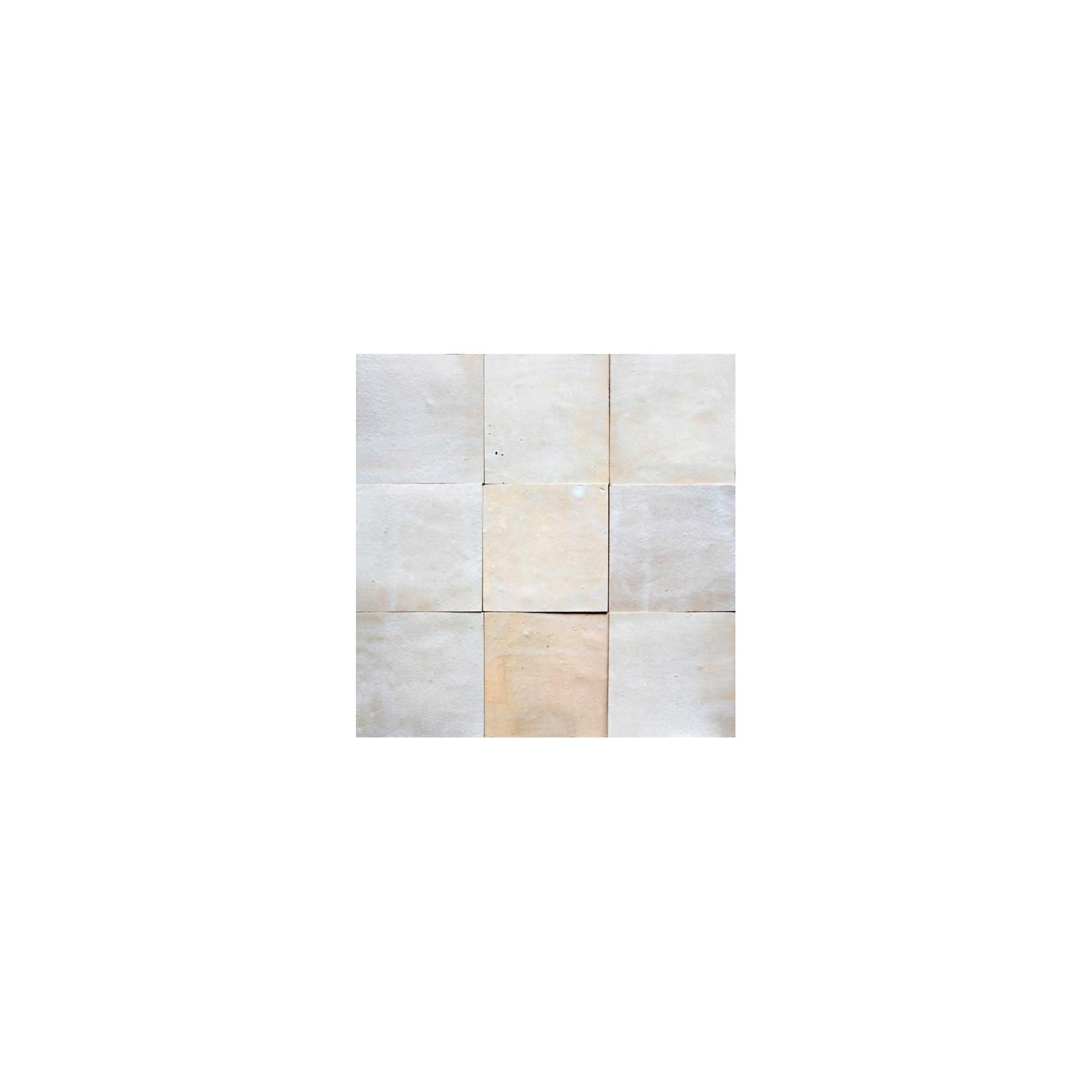 Carrelage mural Zellige manuelle Blanc saber 65