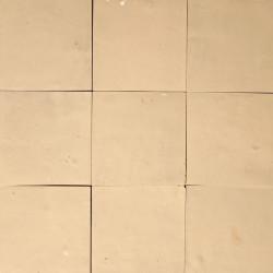 Carrelage mural Zellige manuelle Blanc laiteux 11