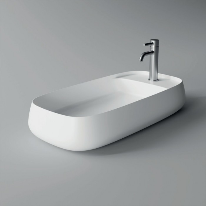 Lavabo, vasque Nur 80x40cm Plan (16 couleurs) rectangle ref. 33190101